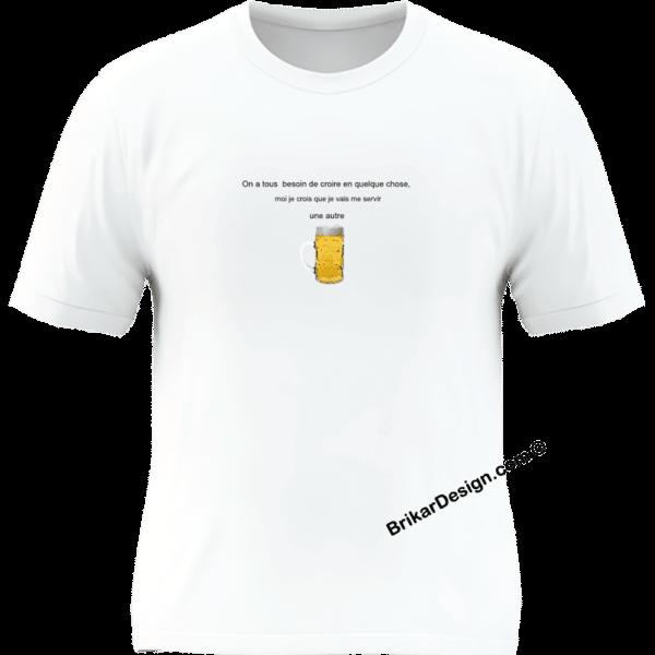 Besoin de croire en quelque chose - t-shirt homme