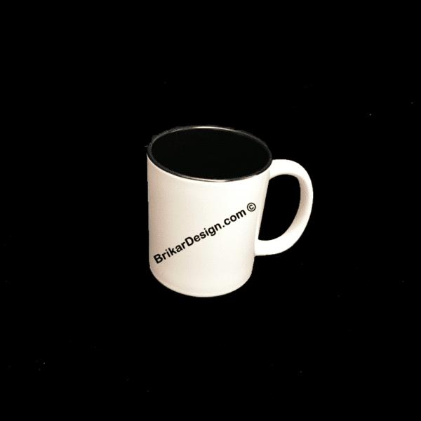 tasse couleur noir personnalisé