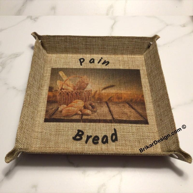 corbeille à pain personnalisé